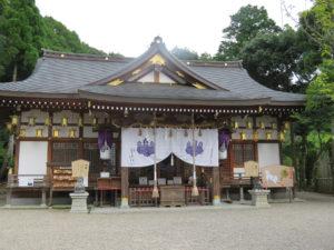 恩智神社拝殿